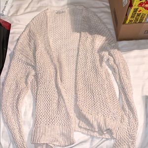 Knit see through cardigan soft